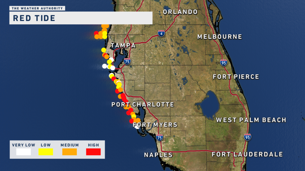 Red Tide map 8.22