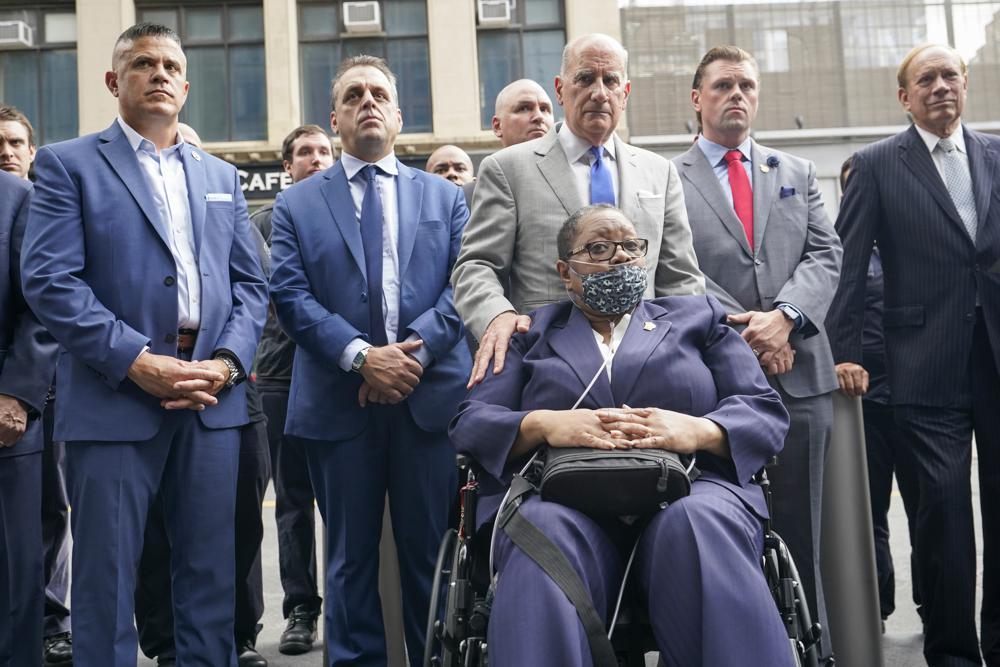Retired NYPD Detective Barbara Burnette