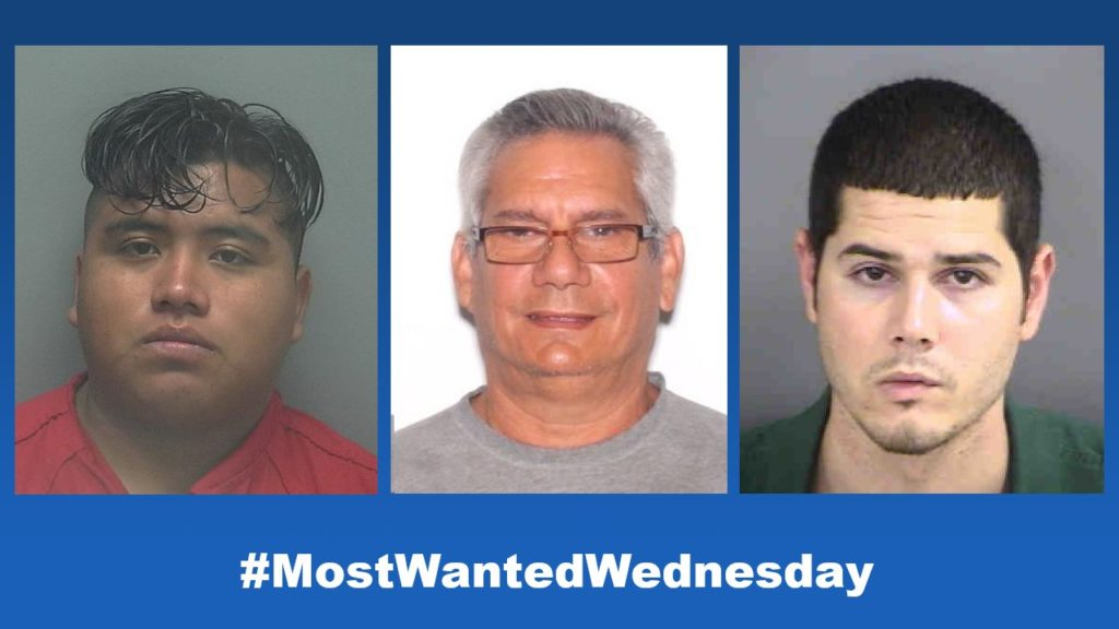 Most Wanted Wednesday: We feature some of SWFL's most wanted suspects; Sept. 22
