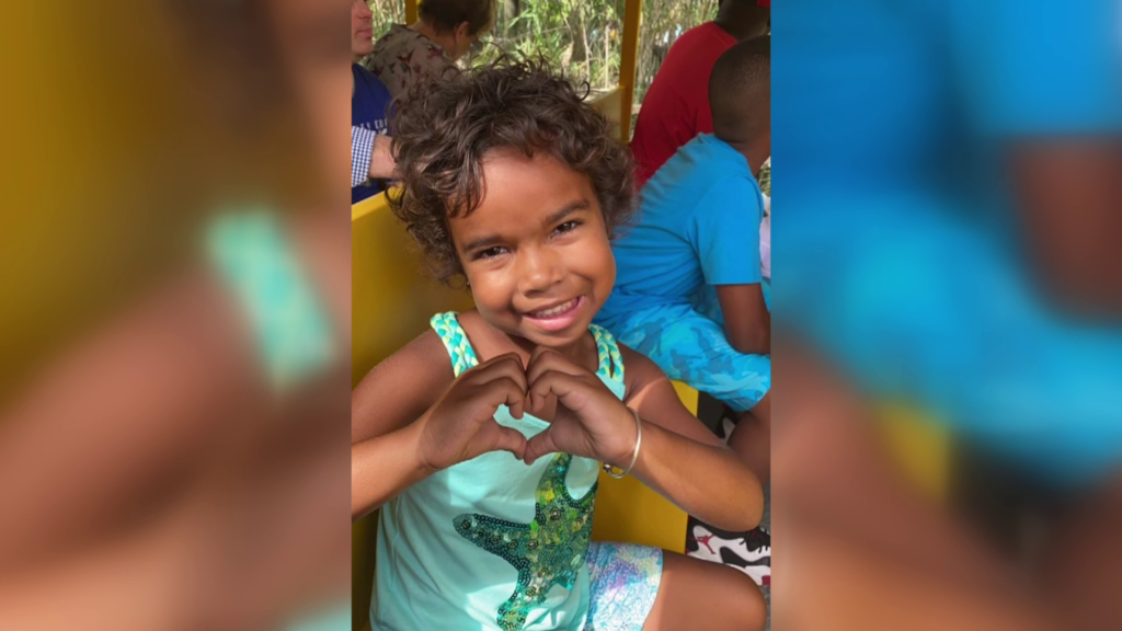 5-year-old Ever Young is feeling great after one year of cancer treatment
