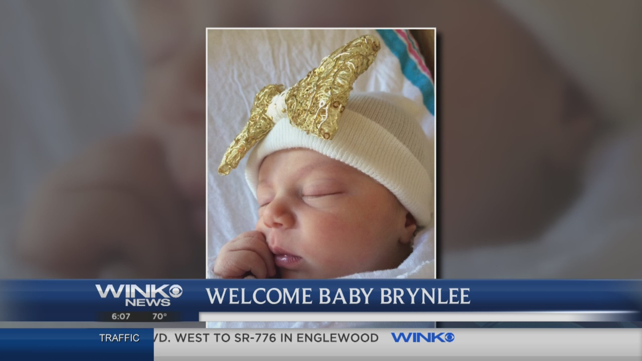 Wink Welcomes Baby Brynlee