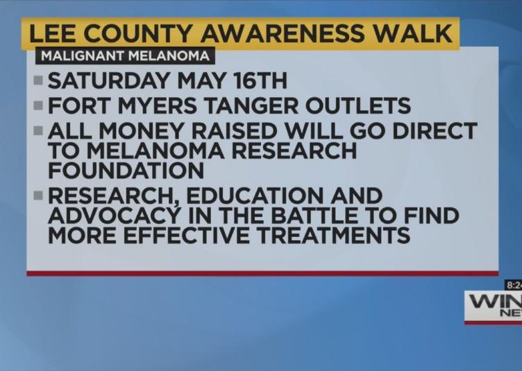 CANCER WALK FOR MELANOMA AWARENESS