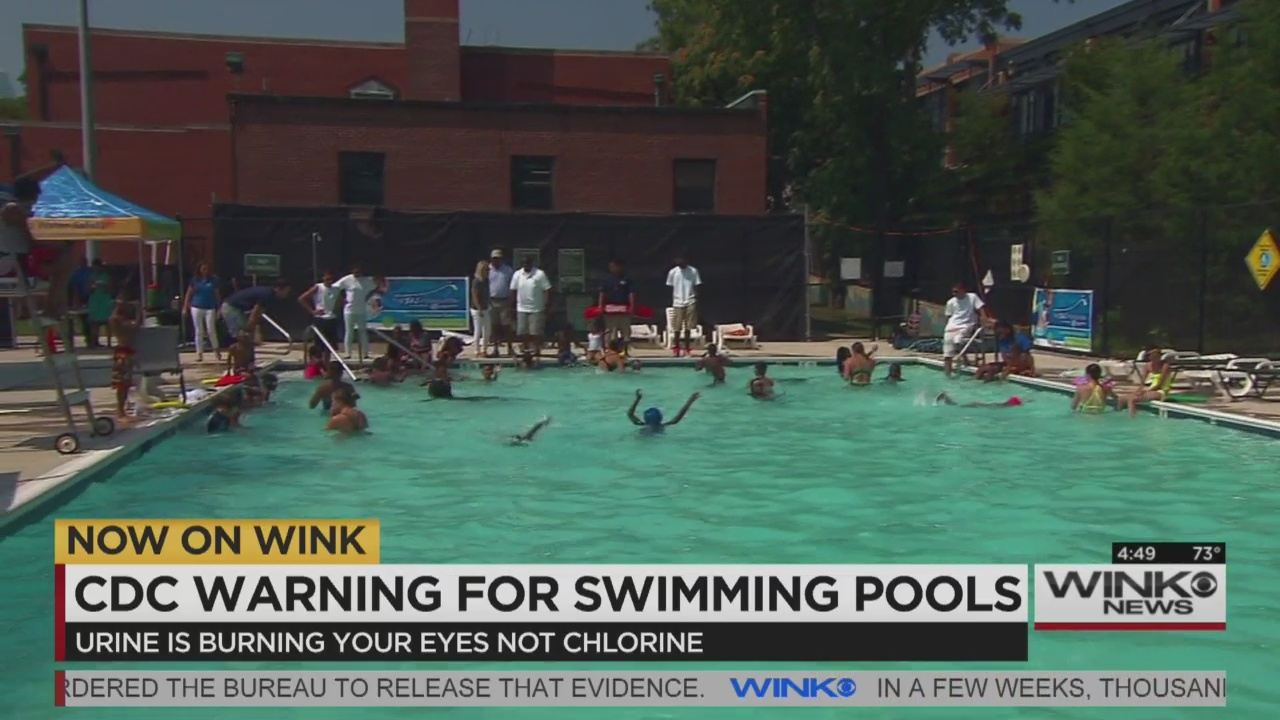 Cdc Gives Swimming Pool Warning Wink News