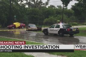 Crazy triple crime scene