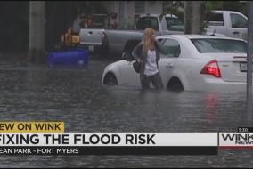 Dean Park flooding