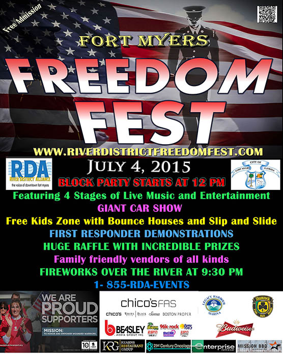 Fort Myers Freedom Fest 2015