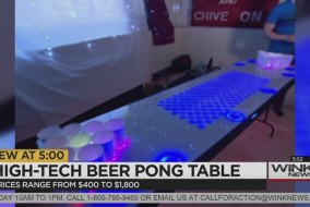 HIGH TECH BEER PONG TABLE CANADA