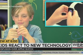 KIDS REACT TO NEW TECHNOLOGY