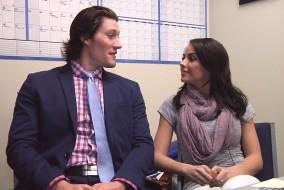 Jordan Henry and Jessie Sulidis