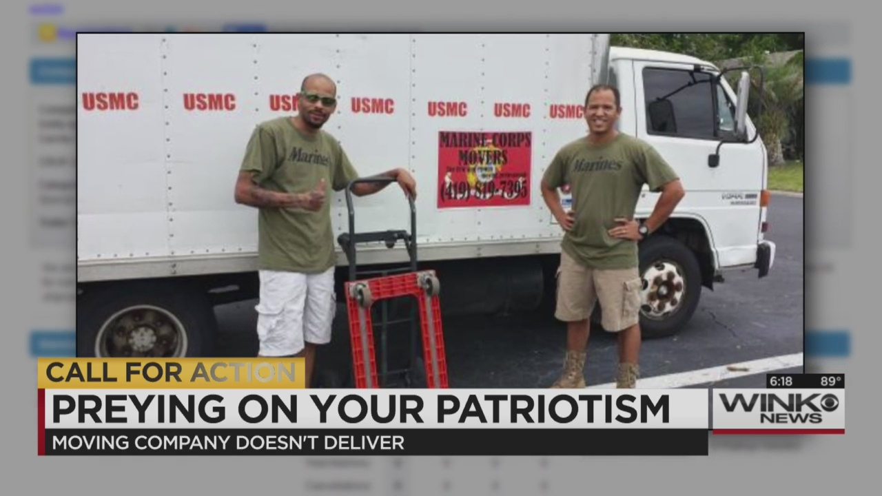 Moving company dupes patriotic americans for Marine corps motor transport characteristics manual