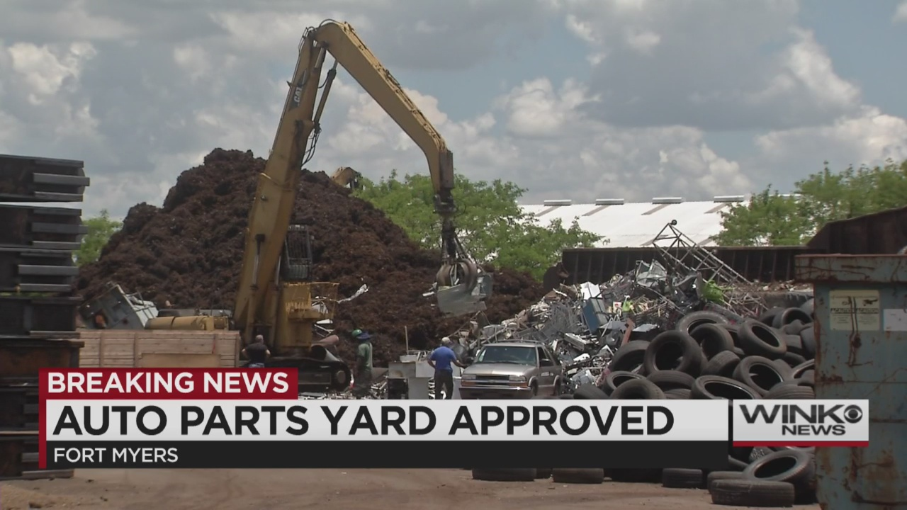 Fort Myers Gives Green Light To New Auto Junkyard