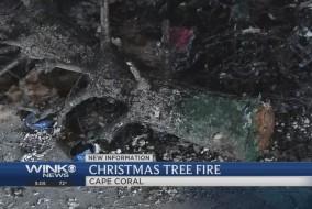 christmastreefire