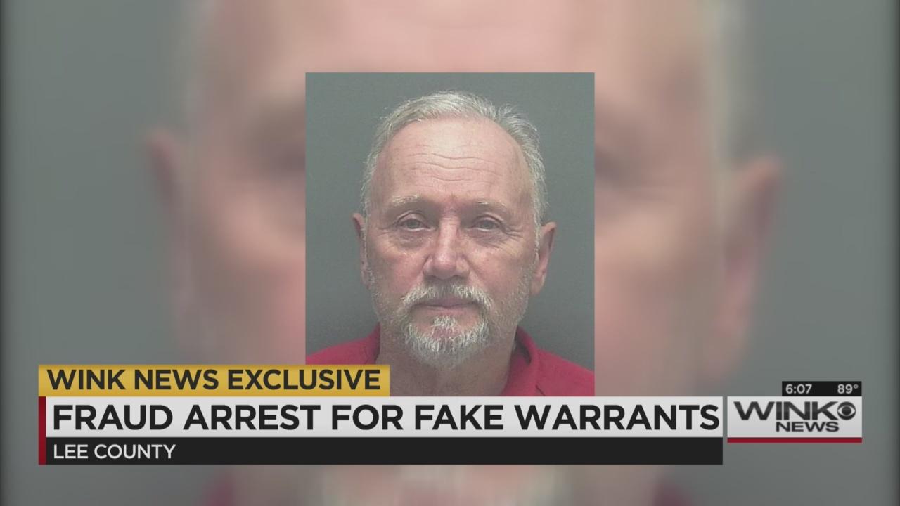 Man arrested for creating fake arrest warrants for Lee Co  public