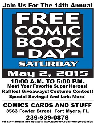 14th Annual Free Comic Book Day
