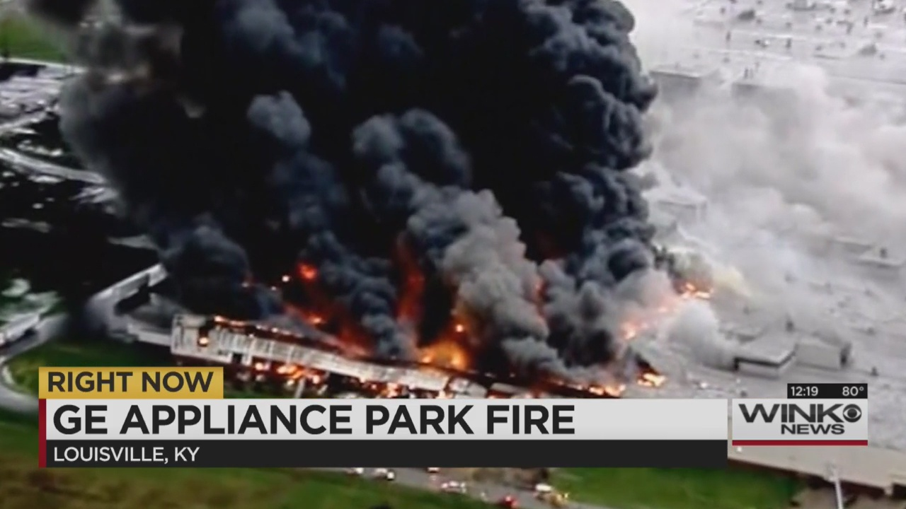 Massive Fire Breaks Out At Ge S Appliance Park In Kentucky