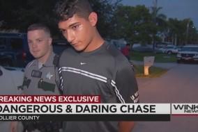 high speed arrest east naples