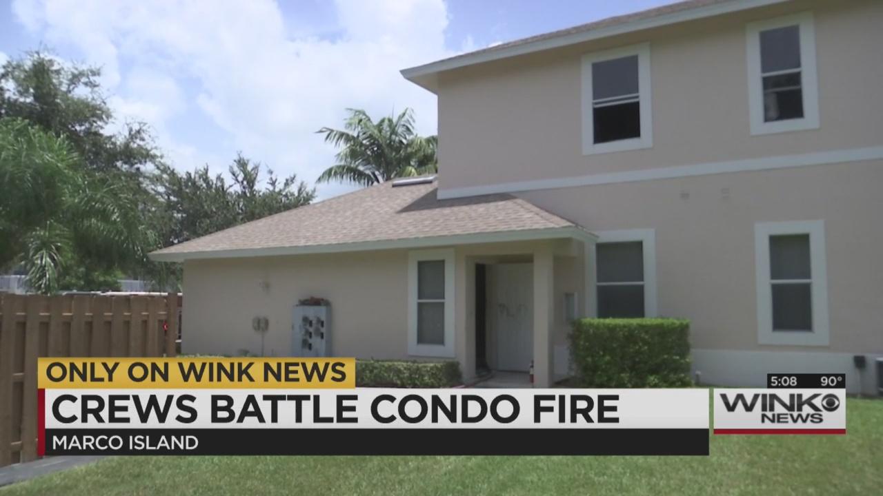 Fire Rips Through Marco Island Condos