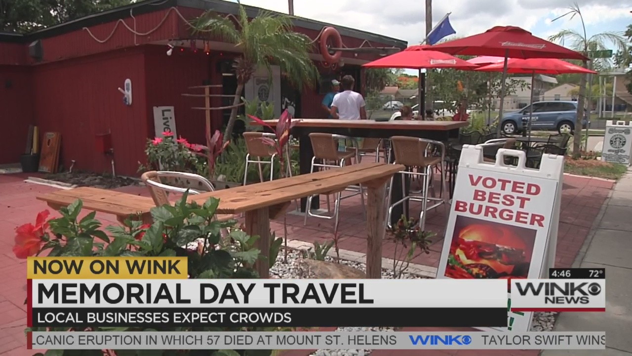 Large crowds expected to travel this Memorial Day weekend