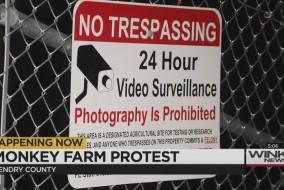 monkey farm protest thursday