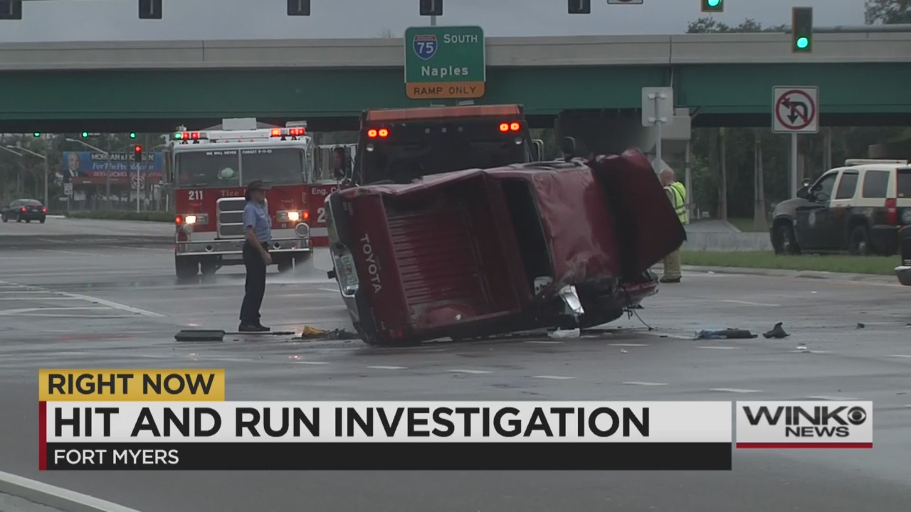 Multi Vehicle Hit And Run Crash Shuts Down Palm Beach Blvd