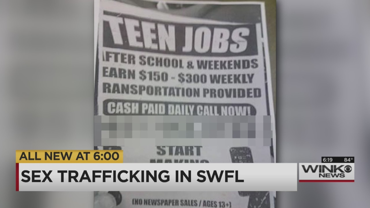 new warning about sex trafficking in florida wink news new warning about sex trafficking in florida