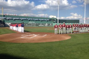 Teams honor ALS Ice Bucket Challenge pioneer Pete Frates.