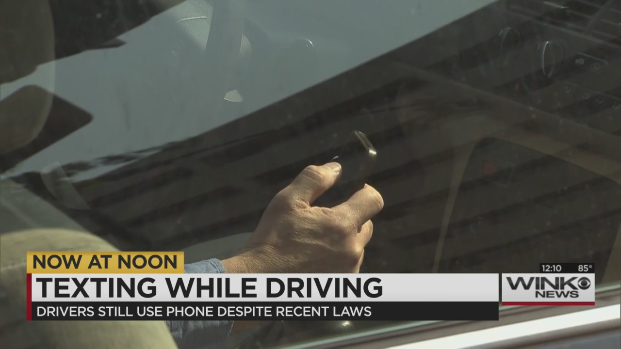 laws should be made to prohibit texting while driving Florida is one of the last states to not fully ban texting while driving  law  enforcement officers must see another violation like speeding or an.